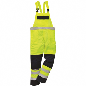 FR63 - HIVIS MULTI-NORM BIB AND BRACE